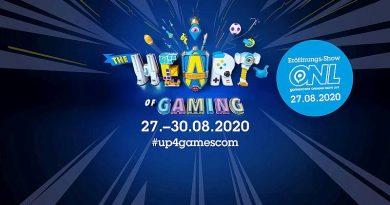 Gamescom 2020 THE HEART OF GAMING
